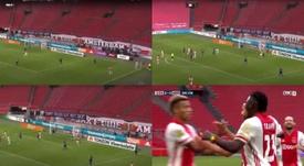 Le but de l'Ajax qui rappelle celui d'Origi. FoxSports