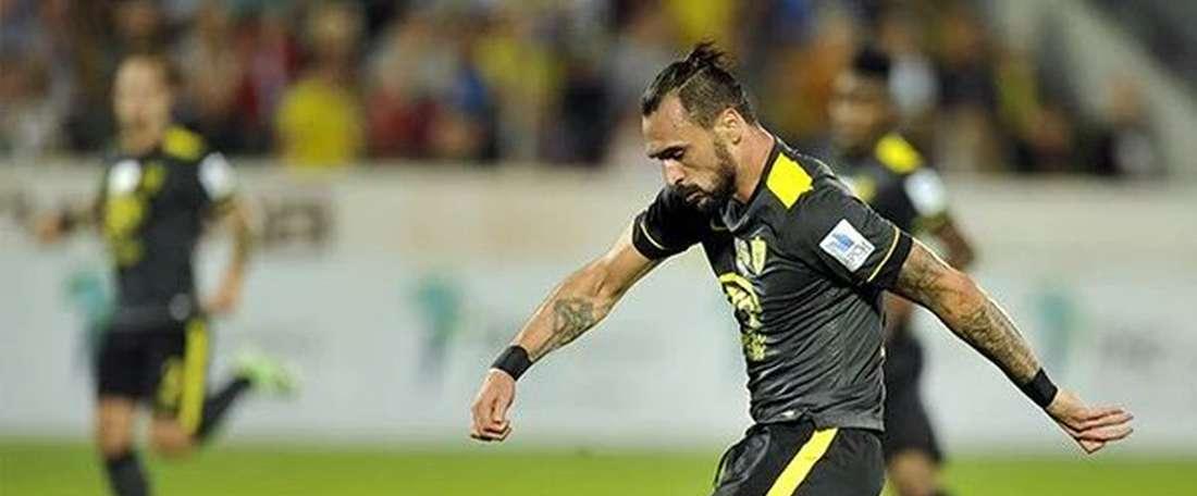 Hugo Almeida lors d'un match. Twitter