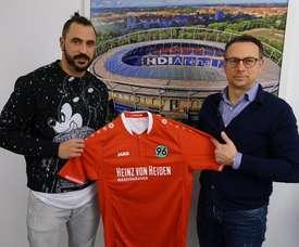Hugo Almeida aterriza en la Bundesliga con el Hannover. Hannover96