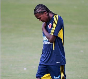 Bahía hizo oficial la contratación de Hugo Rodallega. EFE