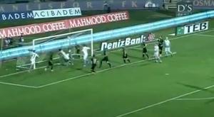 El colombiano anotó un golazo. Captura/beIN Sports