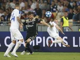 El Ajax cumplió el pronóstico. Twitter/AFCAjax