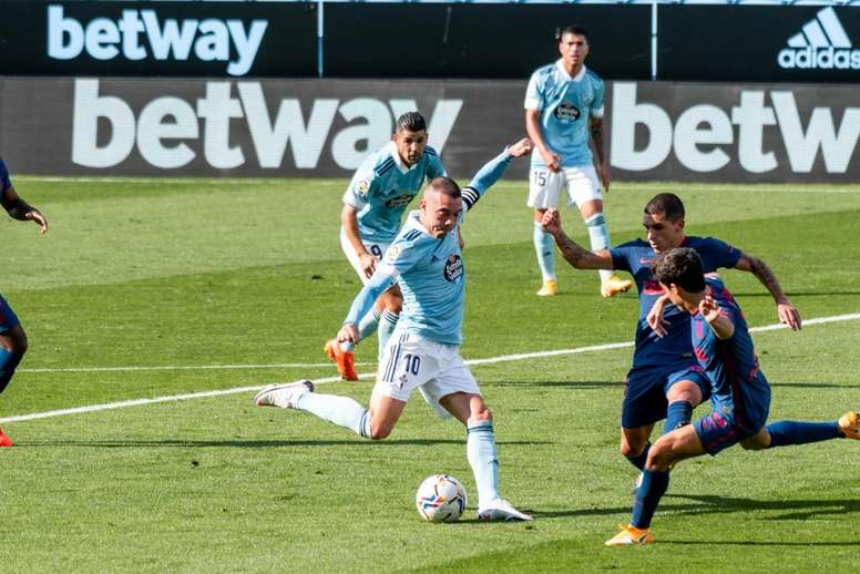 Los porcentajes que convierten a Aspas en el Messi del Celta. Betway