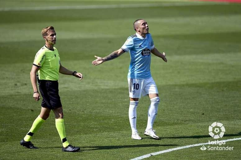 Aspas analizó la victoria del Celta sobre el Valencia. LaLiga