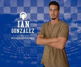 Ian González, nuevo jugador del Sabadell. CESabadell