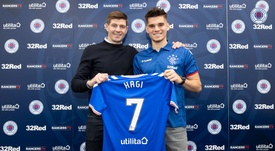 Ianis Hagi has moved to Rangers on loan. Twitter/RangersFC