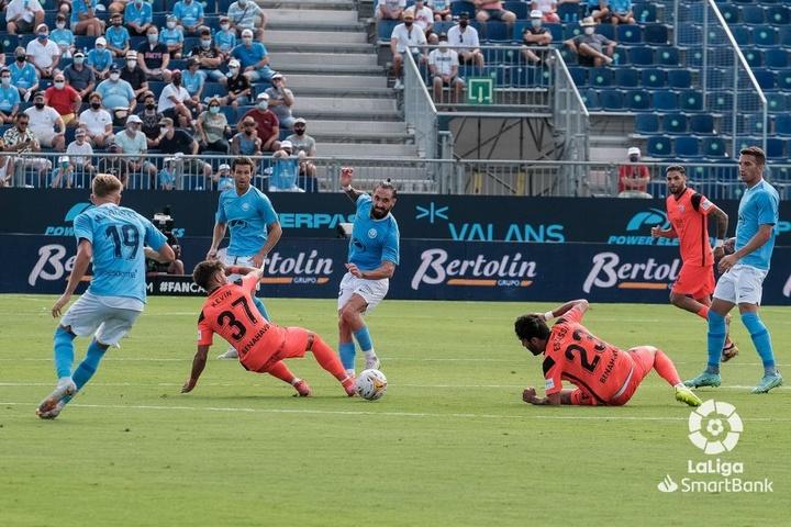 Ibiza y Málaga protagonizaron un partido de locura. LaLiga