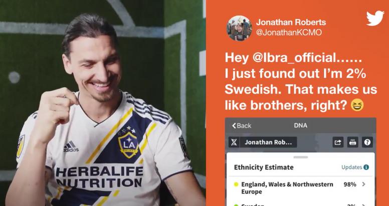 Ibrahimovic respondió a las preguntas de sus seguidores. Twitter