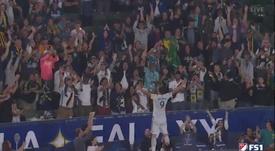 'Hat trick' de Ibrahimovic... ¡y victoria 7-2 de los Galaxy! Captura/FS1