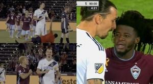 Du grand Zlatan : de la colère à l'indifférence en quelques secondes ! Captura/ESPN
