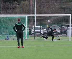 Ibrahimovic quiere volver a tope. Captura/HammarbyFotboll