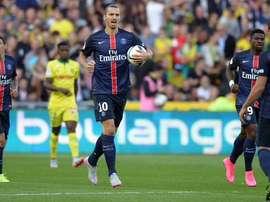 Ibrahimovic y los demás siguen sin conocer la derrota. Twitter