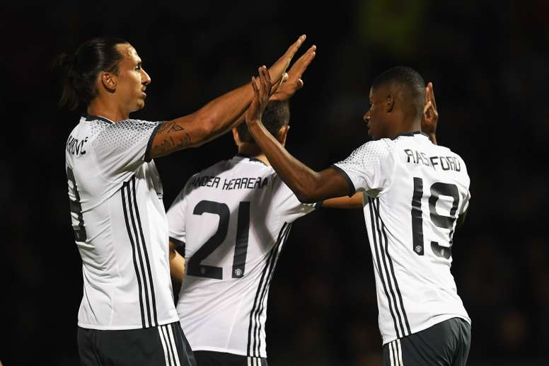 Rashford is desperate to learn from Ibrahimovic as he aims to become a key figure. ManUTD
