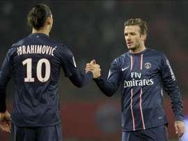Ibrahimovic a perdu son pari contre le joueur anglais. EFE