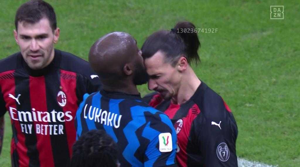 Altercation entre Romelu Lukaku et Zlatan Ibrahimovic