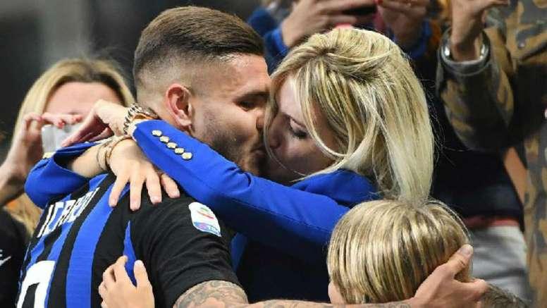 La esposa del futbolista está en el punto de mira. EFE