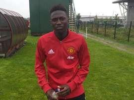 El United podría fichar a una joven perla. IdrisKanu