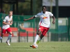 Idrissa Touré se formó en las categorías inferiores del RB Leipzig. DieRotenBullen