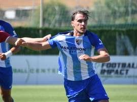 Ignasi Miquel se despidió del Málaga. BeSoccer