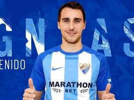 Miquel reforça a zaga do Málaga. MálagaCF