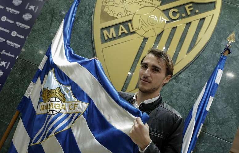 Ignasi Miquel podría irse este mismo verano. MalagaCF