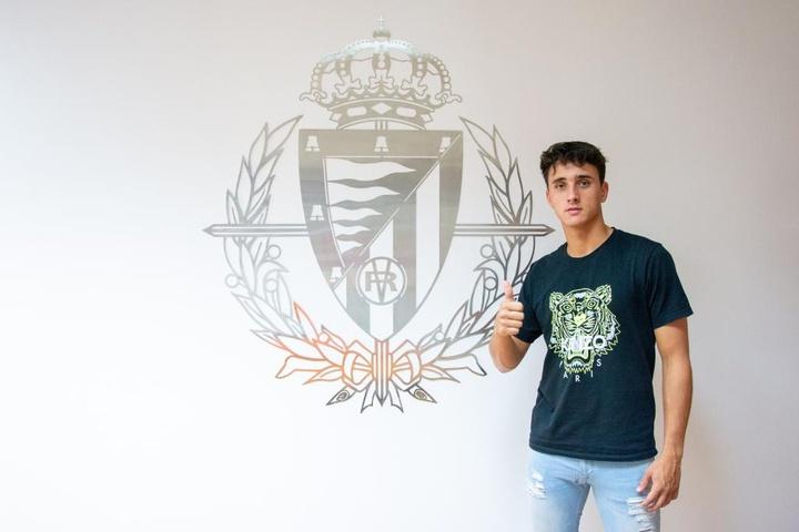 Ignasi Vilarrasa se ha desvinculado del Valladolid. Twitter/realvalladolid