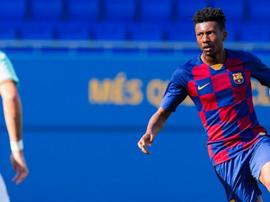 El Barça no se encontró durante todo el choque. FCBMasia