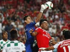 O guardião sérvio jogou em Portugal nas últimas seis épocas. EFE