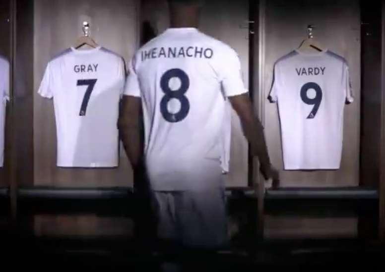 El nigeriano, una de las grandes apuestas del Leicester. Twitter/Leicester