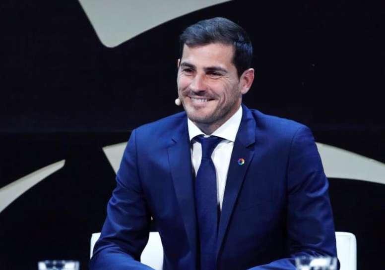 Casillas pasó revista al fútbol español. EFE