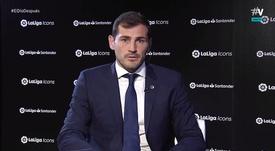 Casillas évoque l'actualité du Real Madrid. VAMOS