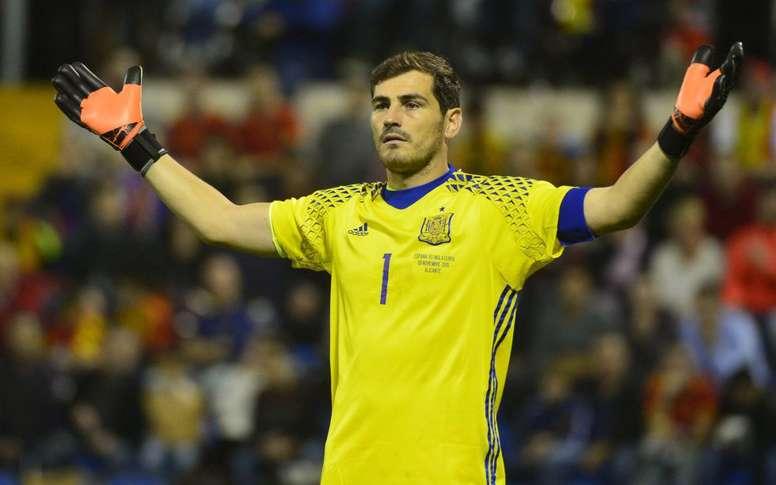 Casillas pide sitio. SEFUTBOL