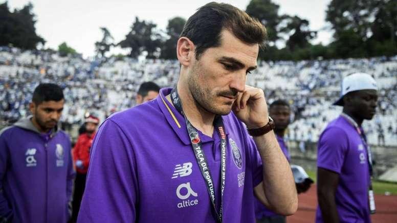 Casillas, sin Champions después de 20 años. AFP