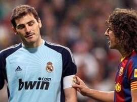Casillas animó a Puyol a volver. EFE