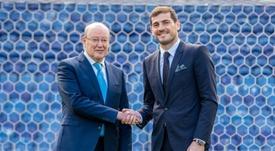 El presidente elogió al meta español. FCPorto