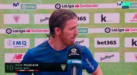 Muniain insinue que la VAR a aidé le Real Madrid. Capture/Movistar