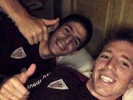Sancet sufre una rotura de ligamento cruzado anterior. Twitter/IkerMuniain
