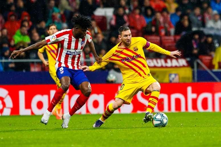 Il goal di Messi decide la gara. Twiiter/FCBarcelona