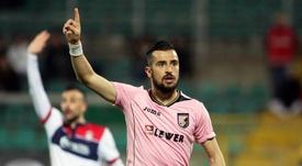 Nestorovski est de nouveau envoyé chez un club de Serie A. EFE