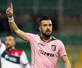 Nestorovski vuelve a sonar para un equipo de la Serie A. EFE