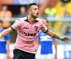 Nestorovski está brillando en el Palermo. EFE