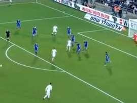 Illarramendi a marqué le seul but du match. Captura/TVE