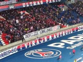 Les ultras s'amusent bien. Capture/Twitter/LeParisien
