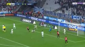 Le mur Mandanda empêche Rennes de l'emporter. Capture/beINSPORTs