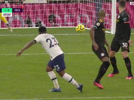 Bergwijn se met les Spurs dans la poche d'un magnifique enchaînement. AFP