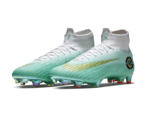 0a5c79be222c5 Pin Cristiano intentará levantar el Mundial con estas coloridas botas. Nike