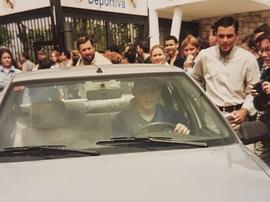 Casillas recordou seu início  com essa curiosa imagem. Instagram/ikercasillas