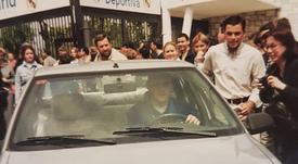 Casillas recordó sus inicios con esta curiosa imagen. Instagram/ikercasillas