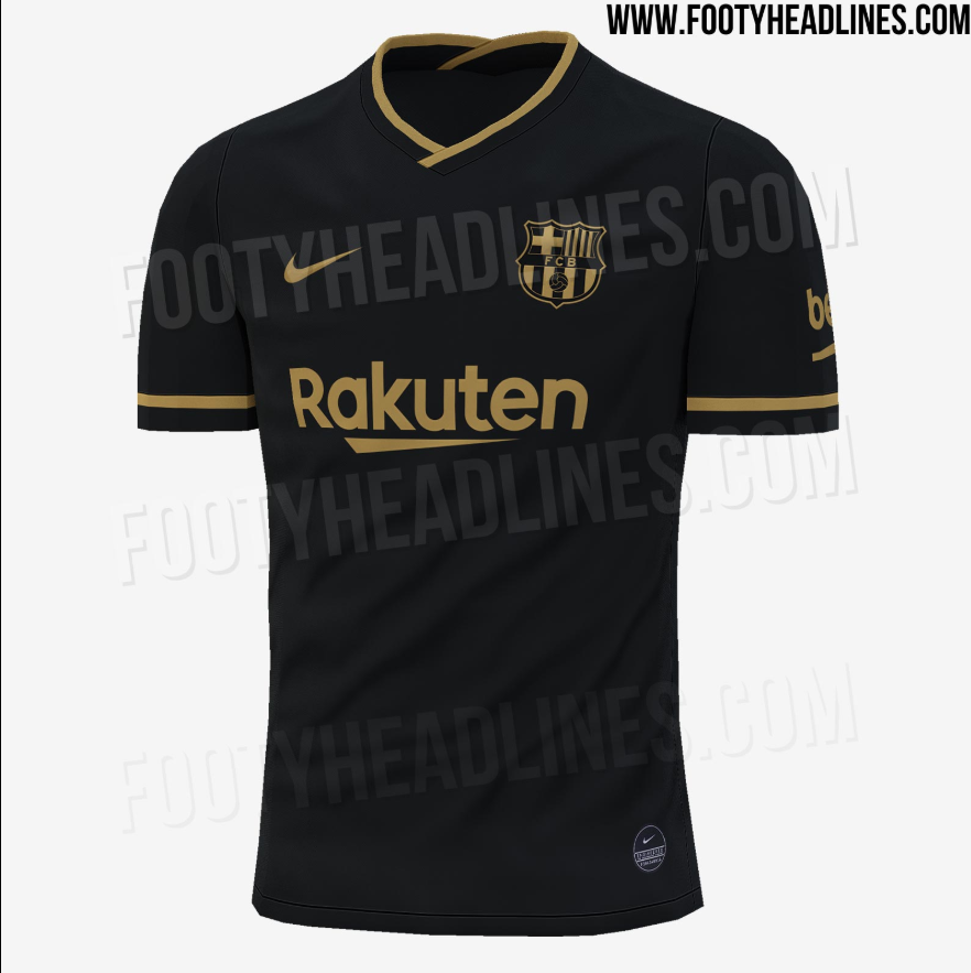 Barca S Possible Away Kit For 2020 21 Leaked Besoccer