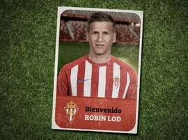 Robin Lod, nuevo jugador del Sporting. Twitter/RealSporting